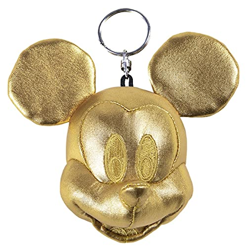 Cerdá - Llavero Peluche Cabeza de Minnie Mouse - Licencia Oficial Disney