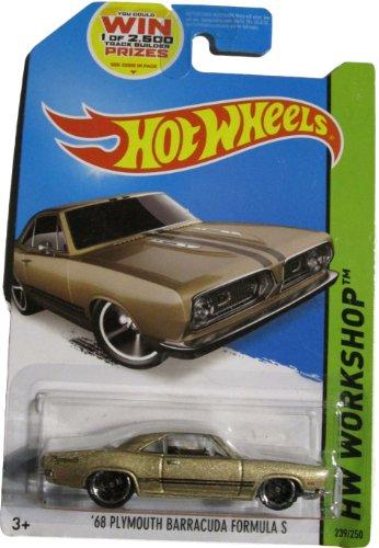 Hot Wheels 2014 HW Workshop '68 Plymouth Barracuda Formula S 239/250, Tan