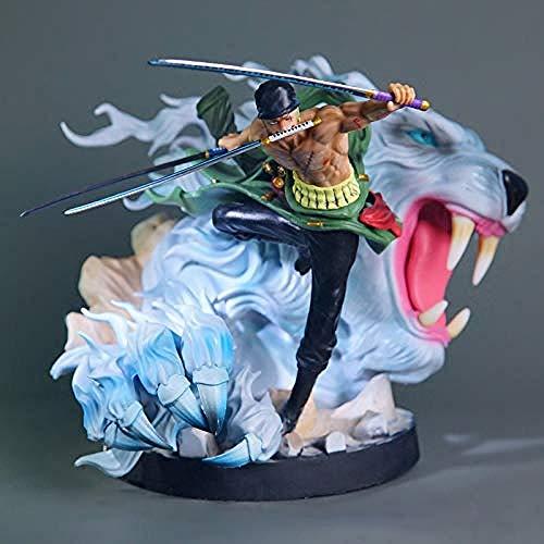 Yooped Mano Onepiec Fare Sauron Sauron Polo Tigre Caccia Ornamenti Bambola Anime Mano pour Fare Il Modello -24 cm Bambola