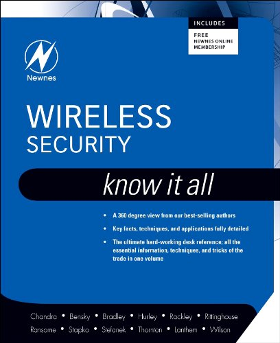 Wireless Security: Know It All (Newnes Know It All) (English Edition)