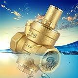 Regalo de abril Válvula reductora, válvula reguladora reductora de presión de la válvula de agua, regulador de presión de la válvula de presión de agua para el hogar