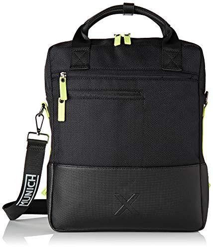 Munich Briefcase City Business, Bolsa para portátil para Hombre, Negro (Black), 8.0x38.0x31.0...