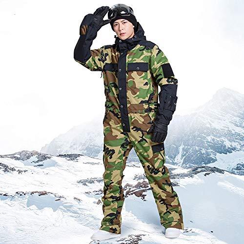 JJZZ Skibekleidung für Herren Blaue Magie Wasserdicht