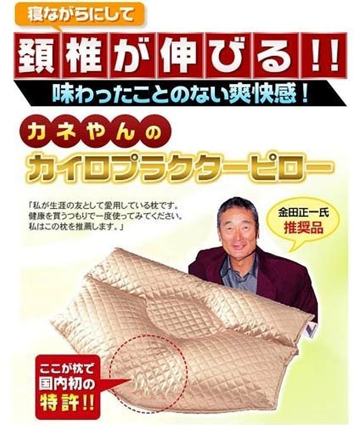パットカフェ拡声器【枕 安眠枕】 カネやんのカイロプラクターピロー (カバー付き) ピンク