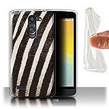 Phone Case for LG L Bello/D331 Fashion Animal Print Pattern