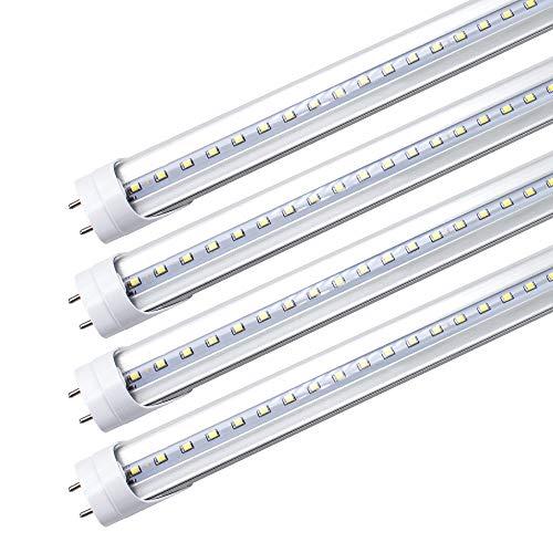 LightingWill LED T8 Light Tube 2FT,…