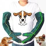 MASUNN Anti-Bite Sicherheit Bite Handschuhe Ultra Langes Leder Grün Haustiere Greifen Beißende Schutzhandschuhe Für Catch Dog Cat Reptilien Tier