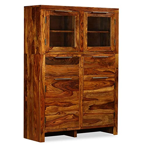 Namotu vidaXL Sideboard Sheesham-Holz Massiv 100x35x140 cm