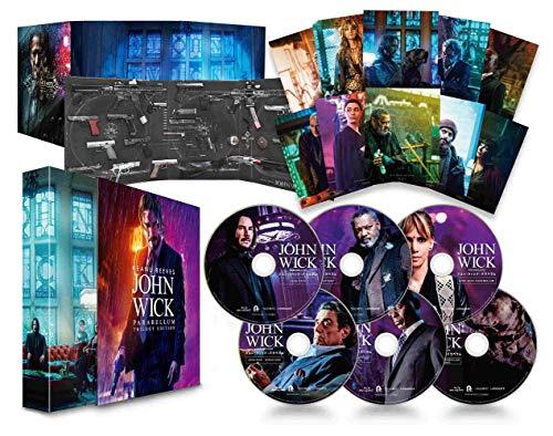 ジョン・ウィック : パラベラム トリロジー・エディション (特典なし) [Blu-ray]