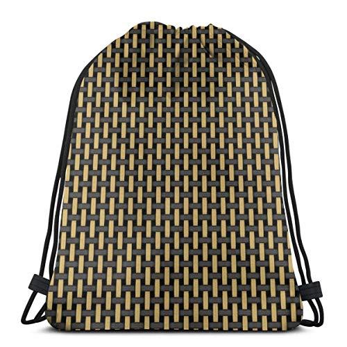 Bolsa de mochila con cordón OPLKJ, amplificador negro y tostado estilo británico...