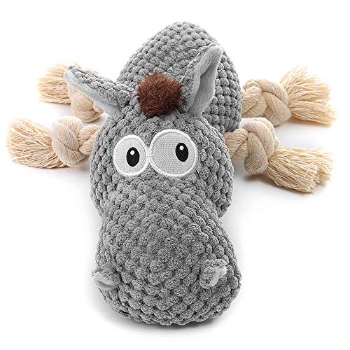 Sedioso Stuffed Dog Toys, Tug of War Plush Dog Toy for Large Breed,...