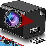 Spy Camera - Hidden Camera - USB Charger - Hidden Camera Charger - USB Charger Camera - Surveillance Camera - Hidden Spy Camera - Hidden Nanny Cam - Full HD 1080p [Upgraded]