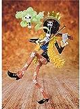 Guoyulin One Piece Brook Musician Anime Figure Anime Toy Store Muñeca Adornos Colección Juguete Anim...