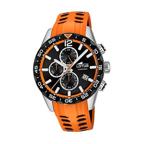 Lotus Herren Chronograph Quarz Uhr mit Silikon Armband 18590/1