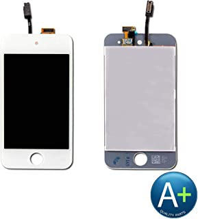 Touch Screen Digitizer and LCD Compatible with Apple iPod Touch 4 - White (A1367)
