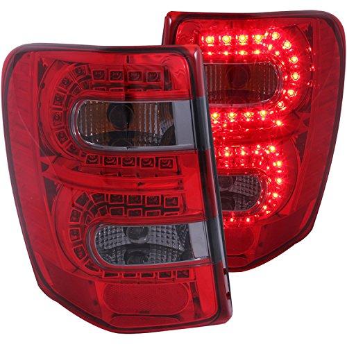 AnzoUSA – Luz trasera LED, Rojo, humo