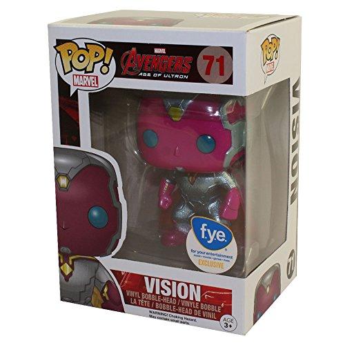 Funko POP!: Marvel: Vengadores: La era de Ultrón: Visión Exclusivo