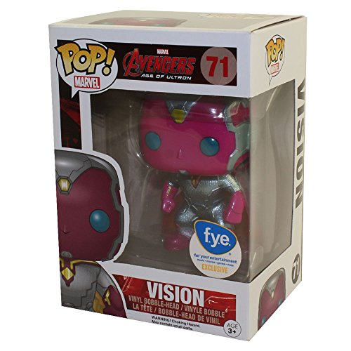 Funko - Figura Marvel Avengers Edad de Ultron - Visión met
