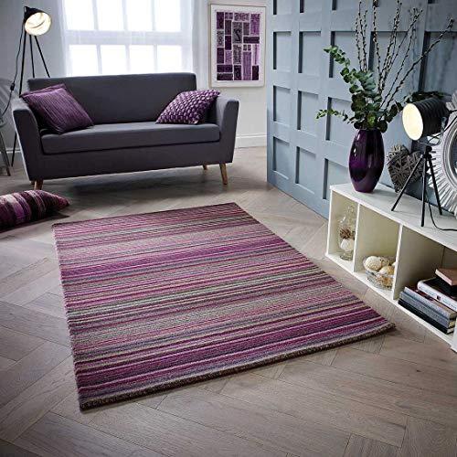 Oriental Weavers Teppich, 100% Wolle, violett, 120 x 170 cm
