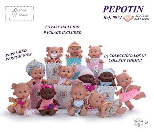 Pepotin - Bambolotto Perfumado, 21 cm, modelos surtidos