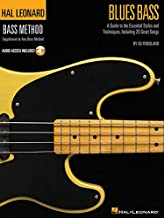 Hal Leonard Blues Bass Method Tab + Accès audio (Hal Leonard Bass Method)