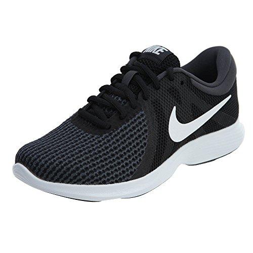 Nike Women's Revolution 4 Running Shoe, Black/White-Anthracite, 5.5 Regular US
