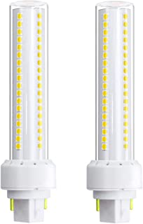 Klarlight G24 LED 3000K 12 Watt G24 LED Bulb 2 Pin Base LED G24q PL Lamp Bulb, 26W G24Q CFL/Compact Fluorescent Replacement Light Bulb Plug & Play 360 Deg G24D Bulb (Remove/Bypass The Ballast)