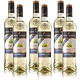 6 Flaschen Michel Schneider Chardonnay, alkoholfreier Wein, sortenreines Weisswein Paket (6 x 0,75 l)