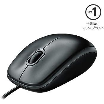 ロジクール 有線 マウス M100rBK 小型 左右対称型 USB 簡単接続 M100r ブラック 国内正規品 3年間無償保証