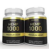 Hemp oil capsules are finally here! This natural supplement is perfect for use everyday. May help with inflammation, stress, pain management, and more! Each serving contains 1,000mg of our high quality, premium hemp oil supplement. It comes in a grea...