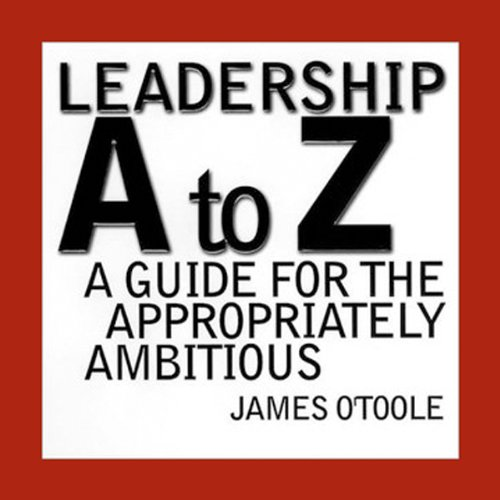 Leadership A to Z audiobook cover art