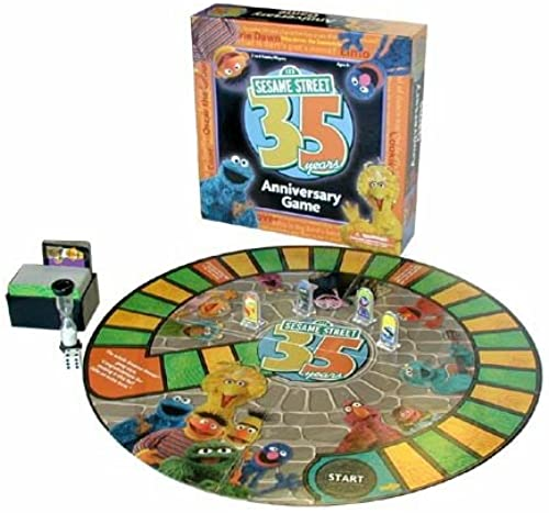 Sesame rue 35th Anniversary Trivia Game Board Game