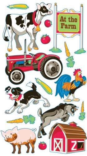 Sticko Farm Animal Stickers