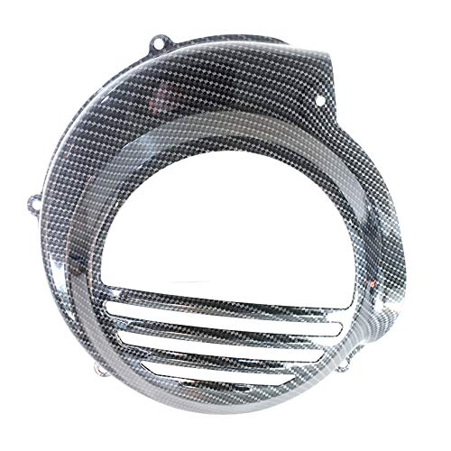 Boita 2.0 Lenkradhülle aus Eisen Vespa PX PE Carbon schwarz glänzend ohne elektrischen Start