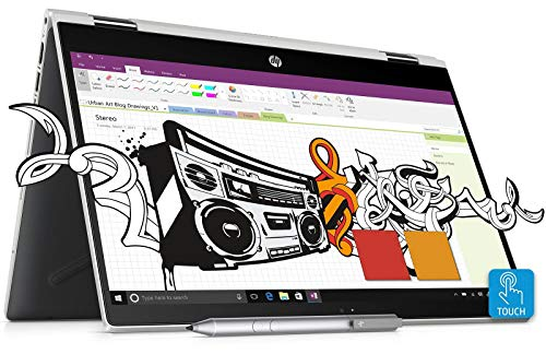 HP Pavilion x360 Core i5 8th Gen 14-inch Touchscreen 2-in-1 FHD Laptop...