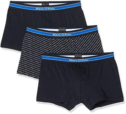 518wPT 0LzL - Marc O'Polo Body & Beach Herren Lounge M-LOUNGESET Crew-Neck' Zweiteiliger Schlafanzug Kurz, Blau (Nachtblau 804), Medium