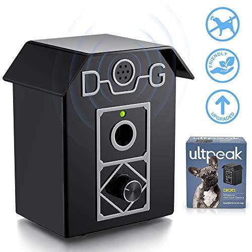 ULTPEAK Antiladridos Perros, Impermeable Collar de Adiestramiento, Ultrasonidos para Perros, Control de Corteza para Perros