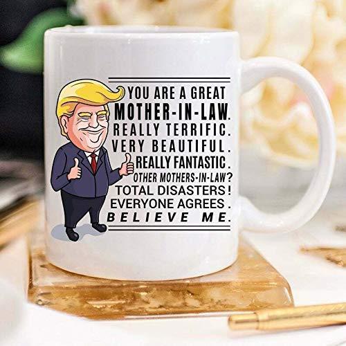NA Trump Mug Suocera Regalo per Suocera Regali di Natale per Suocera