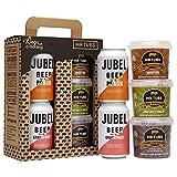 Mr Tubs Pork Crackling 3 Flavour Gift Pack with 2 x Jubel Craft Fruit Lager - Gluten Free Crackling & Beer
