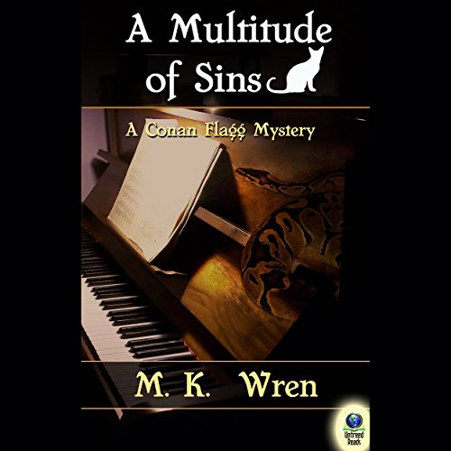 A Multitude of Sins audiobook cover art