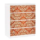 Apalis Vinilo Adhesivo para Muebles IKEA - Malm Dresser 4xDrawers - Closer Than Before, Größe:4 Mal 20cm x 80cm