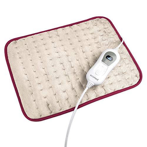 Medisana HP-40E Almohadilla eléctrica, super polar, 3 ajustes de temperatura, protección contra sobrecalentamiento, desconexión automática, lavable, para espalda, cuello, hombros, 2ª generación