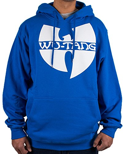 Wu Wear Wu-Tang Clan Logo Hoodie Royal Blue Wu Tang Wear Hoody Sweater S-3XL