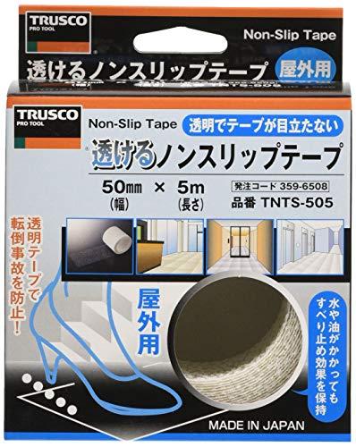 TRUSCO『透けるノンスリップテープ(平面、屋外用)ロールタイプ』