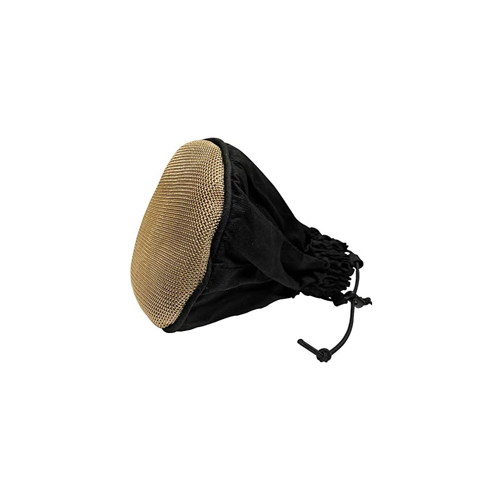 Hair Care products ION MESH HAIR DRYER DIFFUSER SOCK For Curly & Wavy Hair, Fits MOST Standard Size Blow Dryers (Gold)
