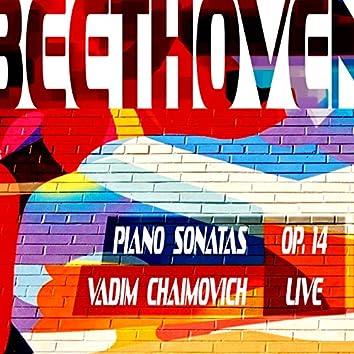 Beethoven: Piano Sonatas, Op. 14 (Live)