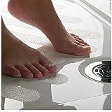 Satho Set - Rutschschutz Streifen DAS ORIGINAL zig' tausendfach bewährt, DIN zertifiziert, die transparente Rutschhemmung Antirutsch Anti-Slip ideal für Dusche und Wanne