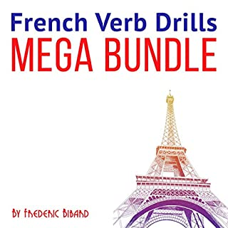 French Verb Drills Mega Bundle                   By:                                                                                                                                 Frederic Bibard                               Narrated by:                                                                                                                                 Frederic Bibard                      Length: 16 hrs and 34 mins     35 ratings     Overall 4.3