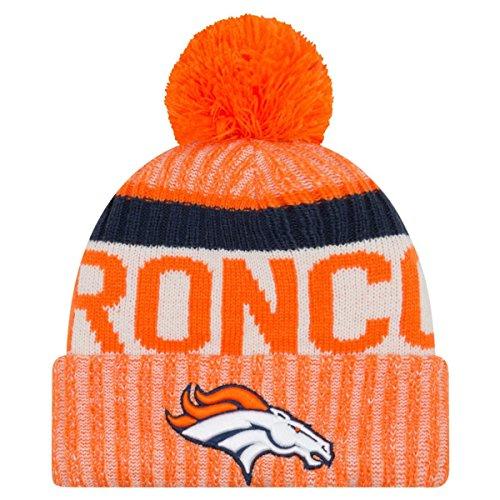 New Era Denver Broncos 2017 On-Field Sport Knit Beanie Hat/Cap
