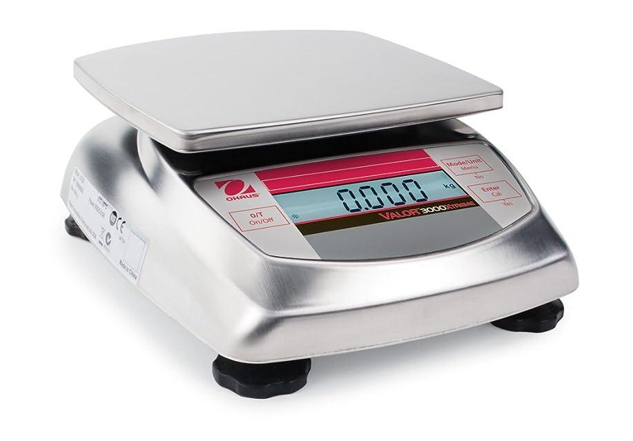 パンフレット気怠い直径オーハウス デジタルはかり 防水タイプ V31XW301JP